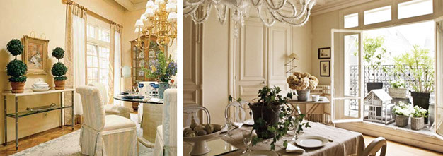 Formal Classic french home decor style